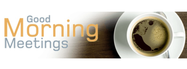 Good Morning Meeting Logo