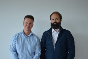 CSO, Sune Justesen, and CEO, Stephan Thorgrimsson, founders of Immunitrack