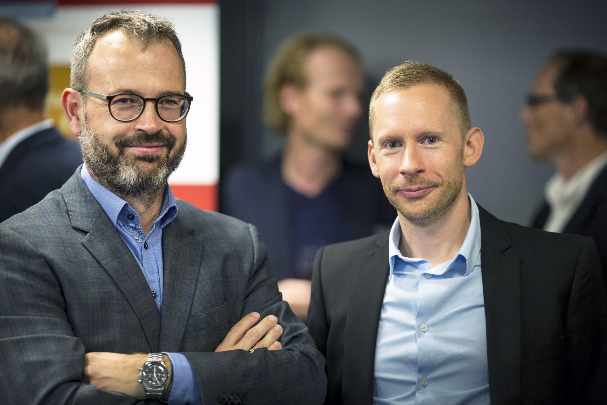 "Medicon Valley Alliance chairman, Søren Bregenholt, wishes CEO, Petter Hartman ""Godspeed"""