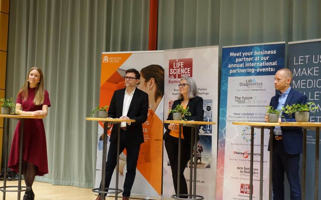 """Life Science Sweden highlights the 10 years anniversary of """"The Future of Swedish and Danish Life Science"""""""